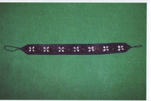 Cotton Beaded Fancy Ladies Belt