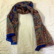 Silk Scarf For Women Stylish Print