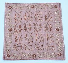 New Emboridered Cushion Cover Embellished Pillow Cover
