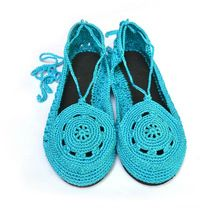 Crochet Lace Shoes