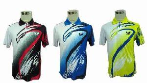 Sublimated Badminton Jersey Uniform