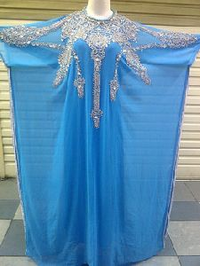 Arabic Abaya Caftan Style Prom Dress