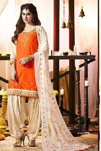 Chanderi Suits Salwar Kameez