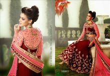 Girls Embroidered Bridal Lehengas