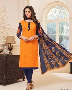 Straight Style Salwar Kameez