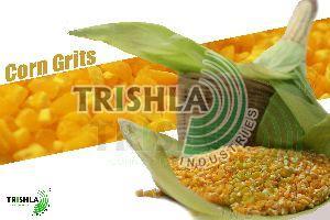 Crushed Corn Seeds