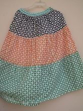 Jaipur Made Multi Color Layered Skirts For Girl