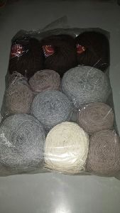 Acrylic Hand Knitting Yarn On Ball