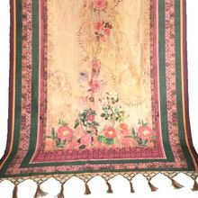 Digital Printed Chanderi Silk Dupatta