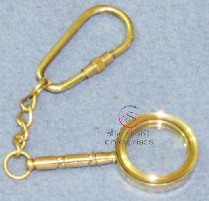 Handle Magnifier Key Chain