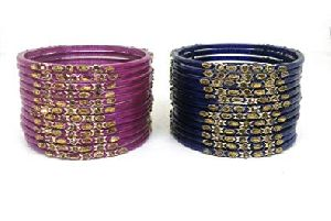 Designer Glass Bangle