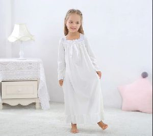 Children Plain Nighty
