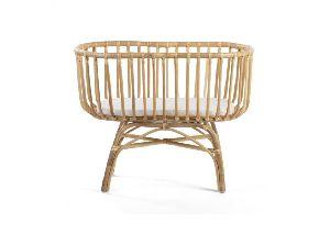Designer Cane Baby Cot