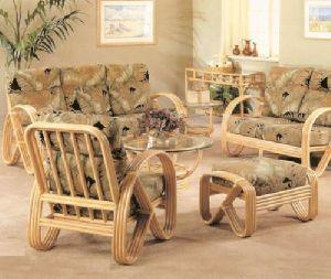 Designer Cane Dining Table
