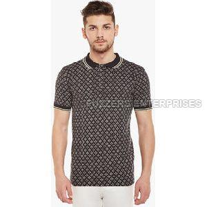 Printed Polo T-shirt