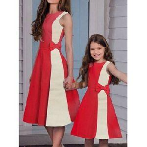 Personalised Oem Family Look Clothing Girls Beach Wear Printed
