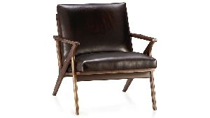 CAVET LEATHER CHAIR