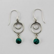 925 Sterling Silver Turquoise Stone Jewelry