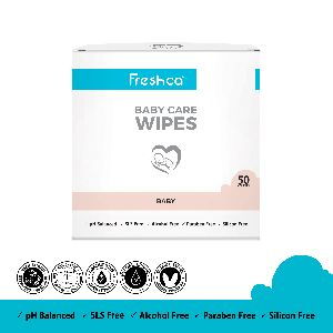 Baby Care Wet Wipes * 50 Itc Box