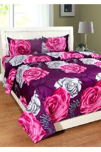 Double Bedsheets With Pillow Cover Set
