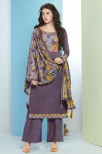 Silk Printed Casual Wear Salwar Kameez