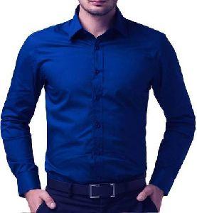 Plain Mens Cotton Shirt