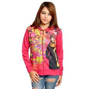 Printed Ladies Sweatshirt