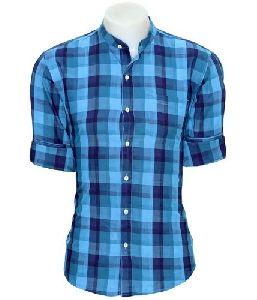 Twill Fabric Check Shirt