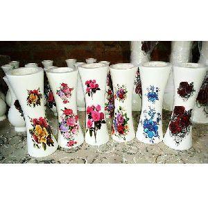 Multi Color Wooden Flower Pot