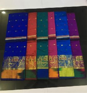 Fancy Dupion Silk Saree