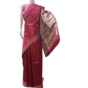 Festive Wear Pure Dupion Silk Saree