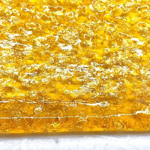 crops 73.5% CBDA Shatter from Certified-Organic Hemp Flower (Whole-Plant Full-Spectrum No Pesticides)