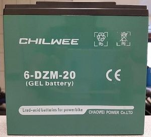 REPLACEMENT GEL BATTERY