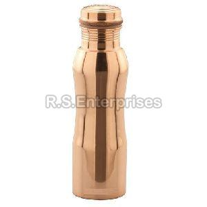 Copper Curved Water Bottle