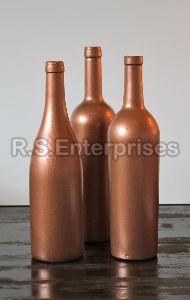 Copper Plain Wine Bottle