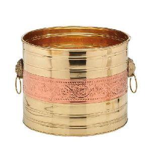 Copper Brass Planter
