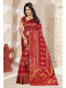 Kanjivaram Art Silk Saree With Free Blouse