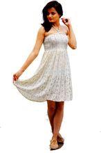 Girls Casual Wear Printed Rayon Tube Dress
