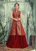 Wedding Cotton Silk Top With Bottom Kurti