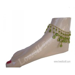 Glass Beaded Anklets