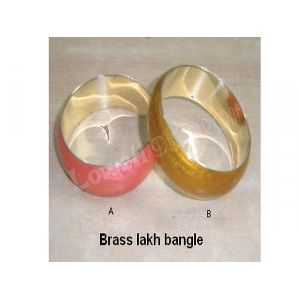 Lackh Bangle With Metal