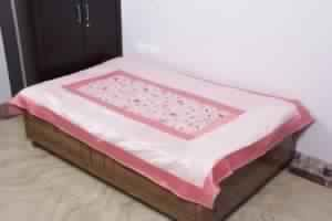 Poly Silk Single Size Bed-sheet