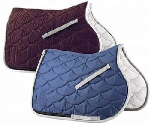 Royalblue/burgundy Jump Saddle Blanket