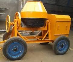 Full Bag Concrete Mixer Machine Without Hopper