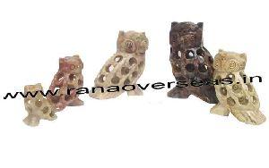 Stone Undercut Owl
