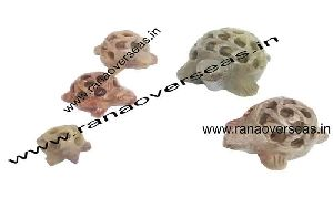 Stone Undercut Turtle
