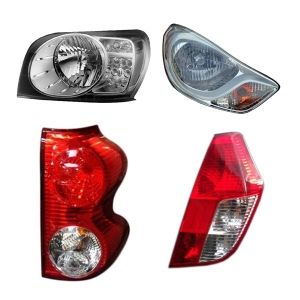Head Light And Tail Lights