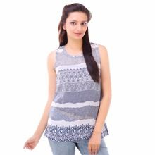 Casual Printed Tops For Girls