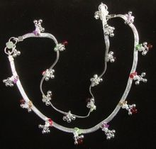 Silver Plated Wedding Anklets