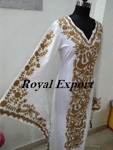 Embroidered Dress Kaftan